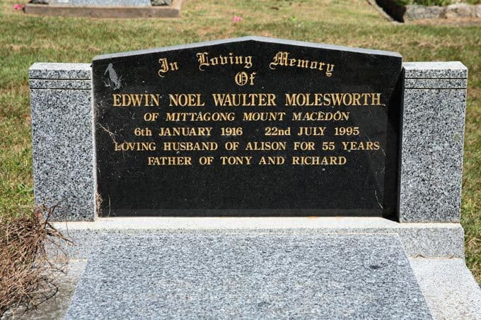 Edwin Noel Waulter Molesworth