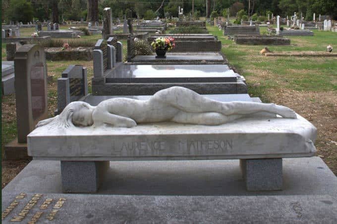 The Spirit of Nature by Peter Schipperheyn Laurence Matheson's Grave